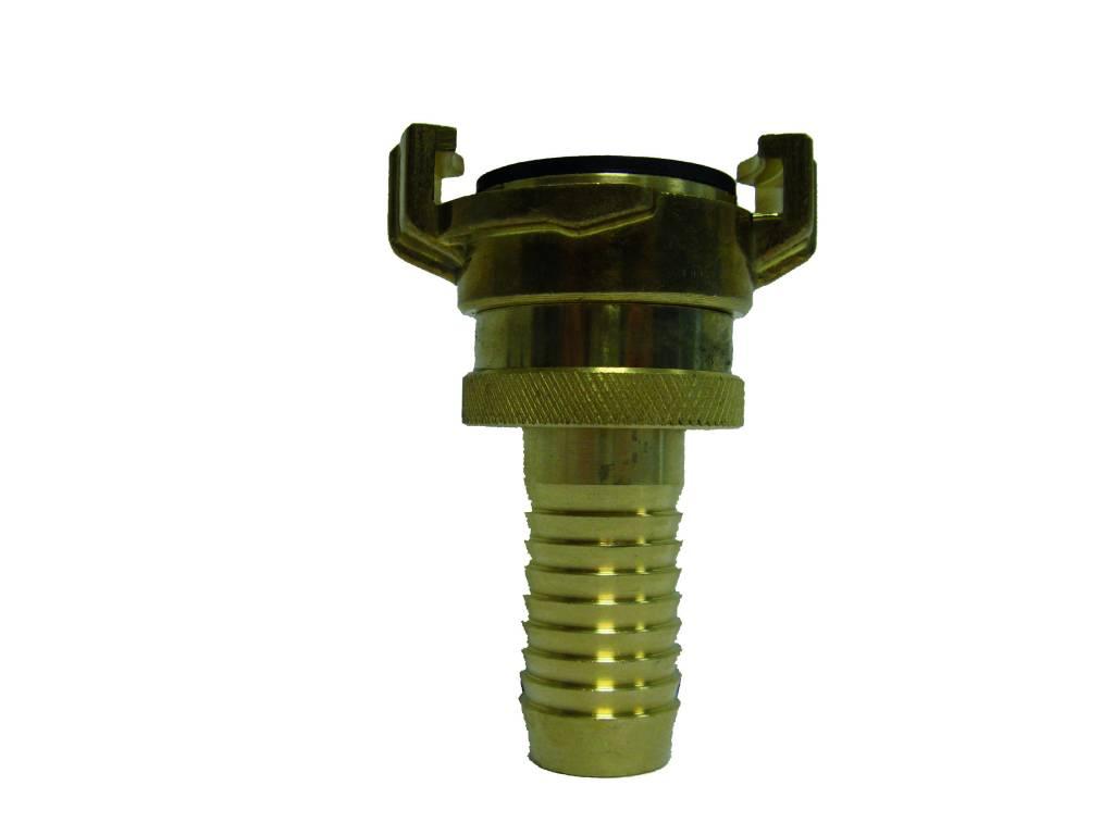 Geka slangkoppeling met nastelbare wartel en 25 mm slangtule