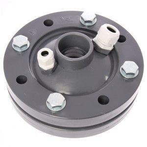 PVC bronkop / putdeksel 125 mm (2'' / 50 mm doorvoer)
