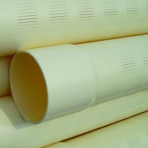 PVC filterbuis 200 mm 10 bar 0,8 mm perforatie L = 5 m