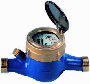 Watermeter mnk-rp 3,5 m3 /uur. Bu.dr. 5/4'
