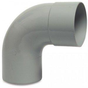 PVC HWA bocht 87,5 graden 80 mm (mof/spie)