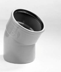 PVC bocht 30 graden 125 mm SN4 (mof/spie)