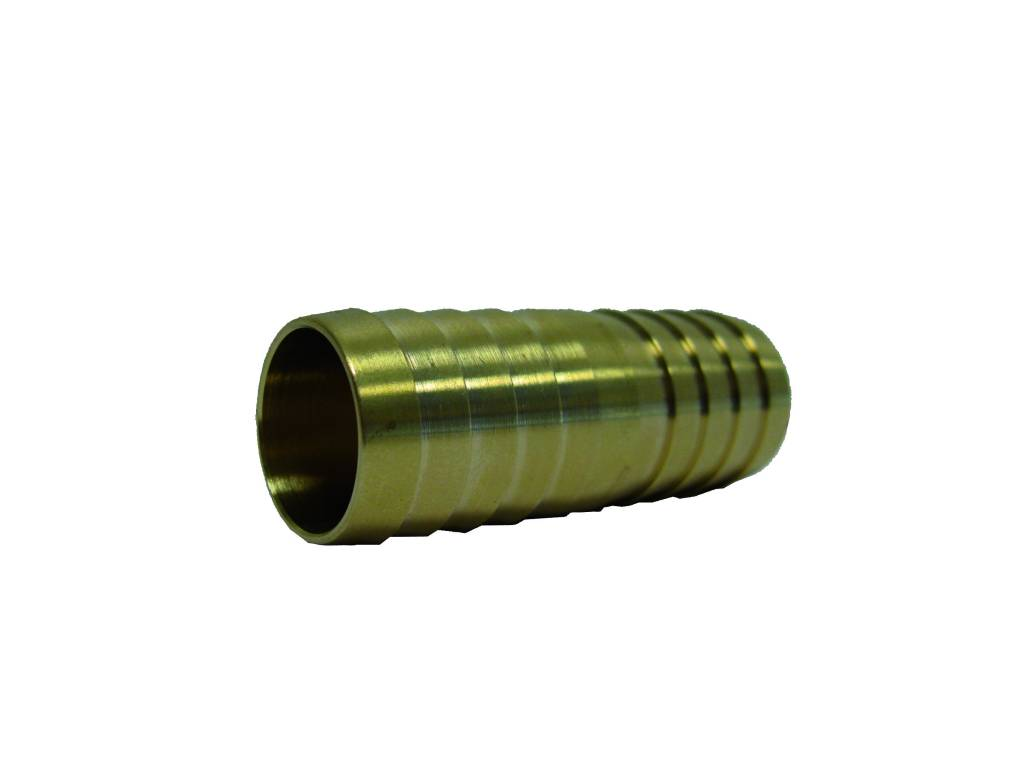 13 mm messing slangkoppeling 2 x slangtule