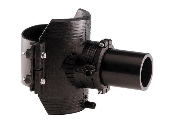 GF ELGEF elektrolas spie-eindzadel 125 / 32 mm | PE hulpstuk