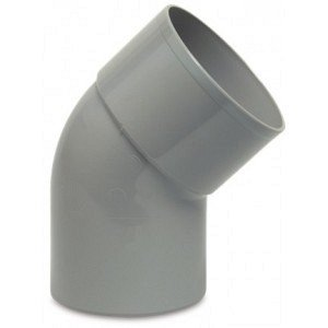 PVC HWA bocht 45 graden 80 mm (mof/spie)