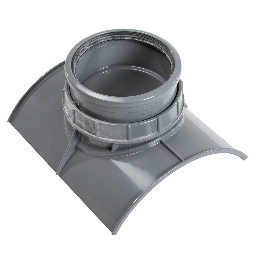 PVC keilinlaat 250 x 125 mm SN8 KOMO
