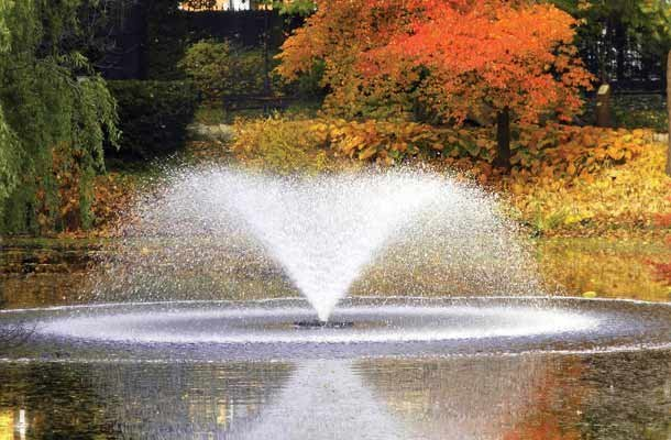 Otterbine Sunburst 200 drijvende fontein - beluchter 230V