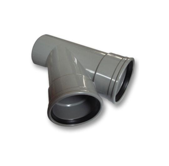 PVC T-stuk 45 graden 125 x 110 mm SN4 (mof/spie)