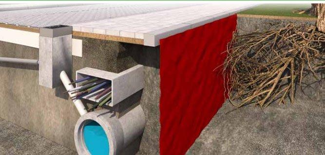 RootBarrier wortelwering 360 g/m2 | L = 10 m B = 100 cm