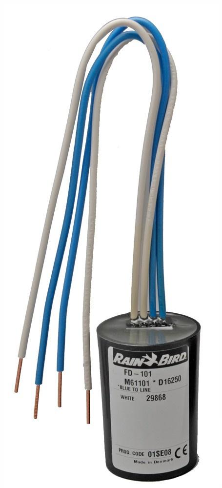 Rainbird FD-102 decoder met 1 uitgang / 2 magneetkleppen per station