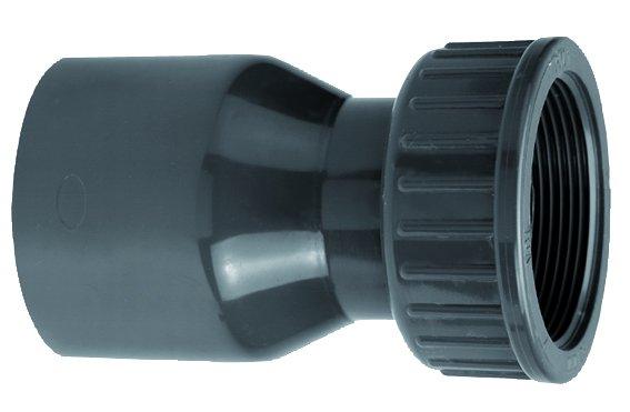 VDL PVC 50 mm x 1 1/2'' koppeling 2/3 PN10