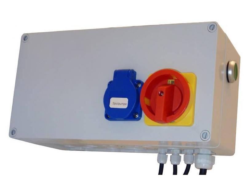 AquaForte trommelfilter besturingskast Standaard