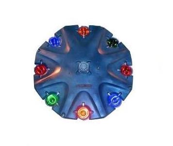 AquaMaster Verlichtingsset 8 x 18 W LED