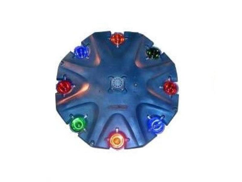 AquaMaster amber glaslens voor 1/2 pk
