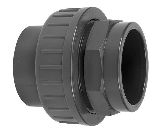 VDL PVC drie-delige koppeling lijmverbinding 63 mm