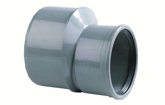 PVC inzetverloop SN8 lang model 125 x 110 mm