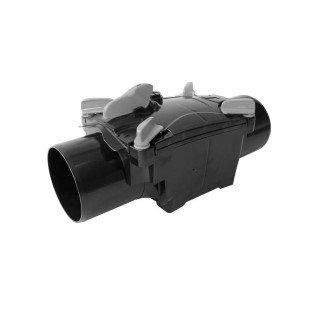 Ontstoppingsstuk met terugslagklep ABS - 125 mm