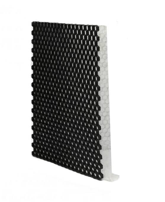 Grindplaat zwart ECCOgravel 120 x 80 x 4 cm | Grindplaten