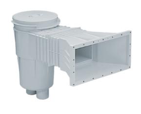 AstralPool Skimmer ABS 17,5 L met brede skimmermond zelfklevende pakking