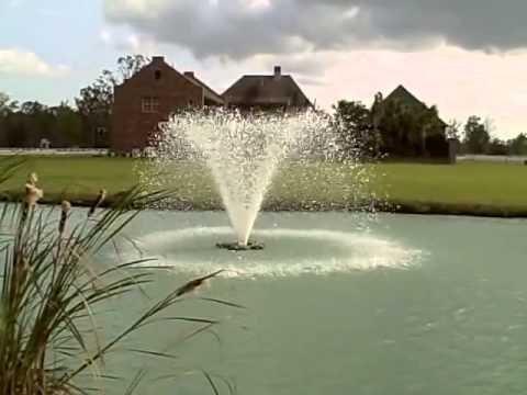 Otterbine Gemini 300 drijvende fontein - beluchter 230V