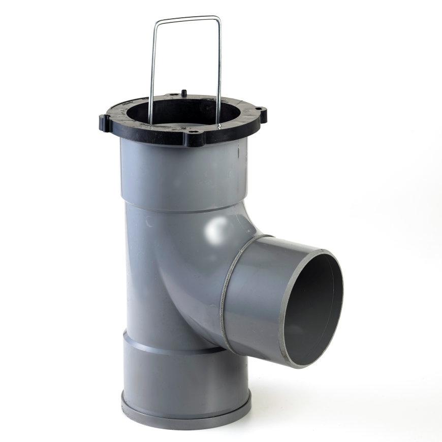 Nicoll zandvanger 110 mm - 360 graden draaibaar - inbouwhoogte 30 cm