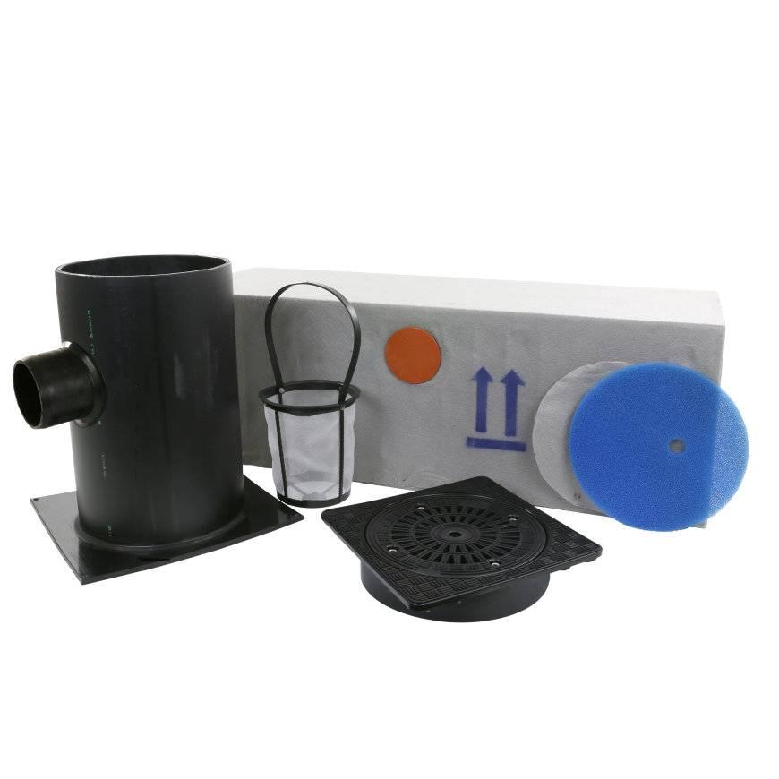 Infiltratieput kunststofdeksel set 200 L, klasse A H = 500 mm