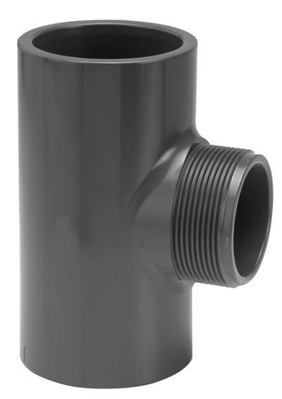 VDL PVC T-stuk 90 graden 40 mm x 1 1/2'' PN10