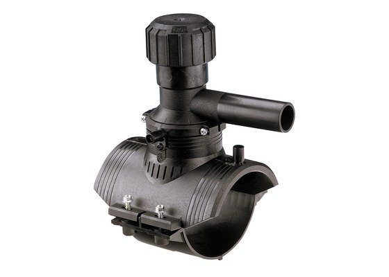 GF ELGEF elektrolas aanboorzadel 360 graden aftakking 125 / 63 mm