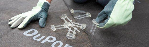 RootBarrier Bio pins (8 cm x 3,5 cm) - 12 stuks