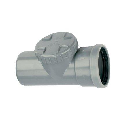 PVC ontstoppingsstuk 125 mm SN4 (mof/spie)