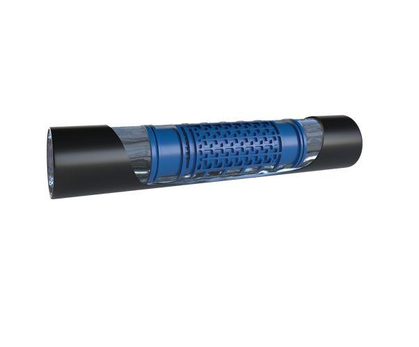 Metzerplas IDIT druppelslang 16 mm 1,4 / uur drukgereguleerd L = 50 M (Zwart)