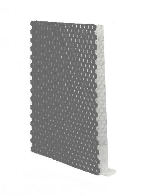 Grindplaat grijs ECCOgravel 120 x 80 x 4 cm | Grindplaten