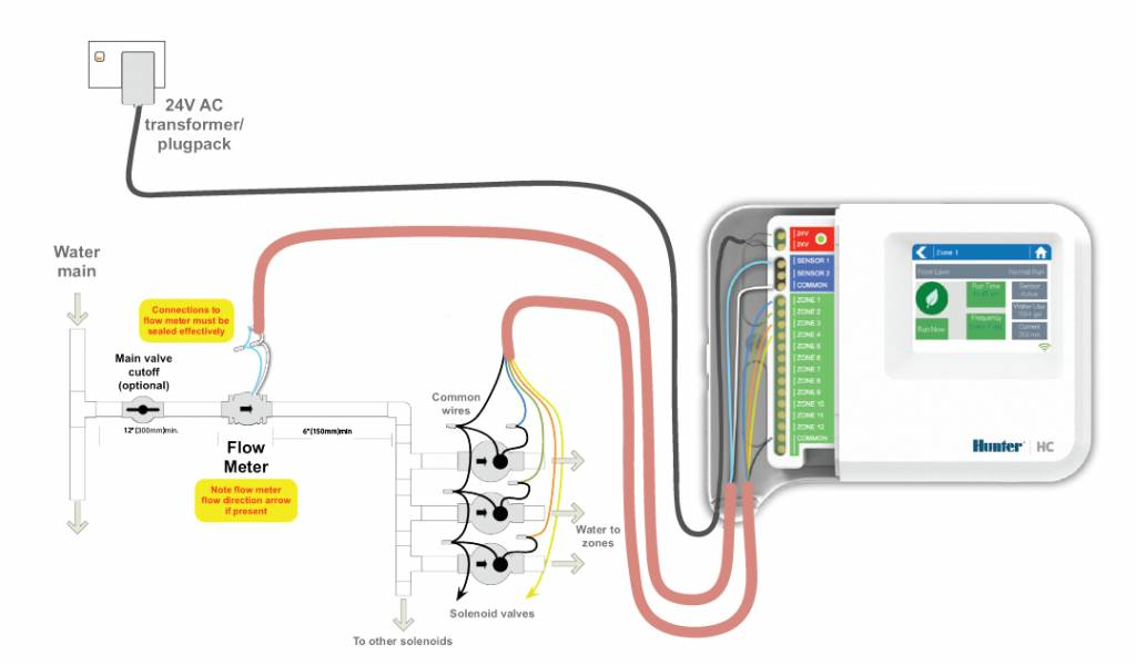Hunter HC1201 12 stations beregeningscomputer