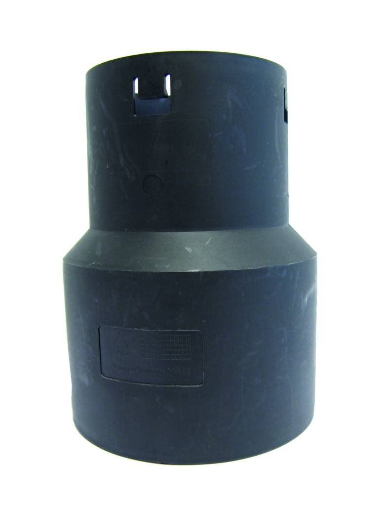 Drainage verloopstuk 50 x 125 mm (DRAIN/PVC)