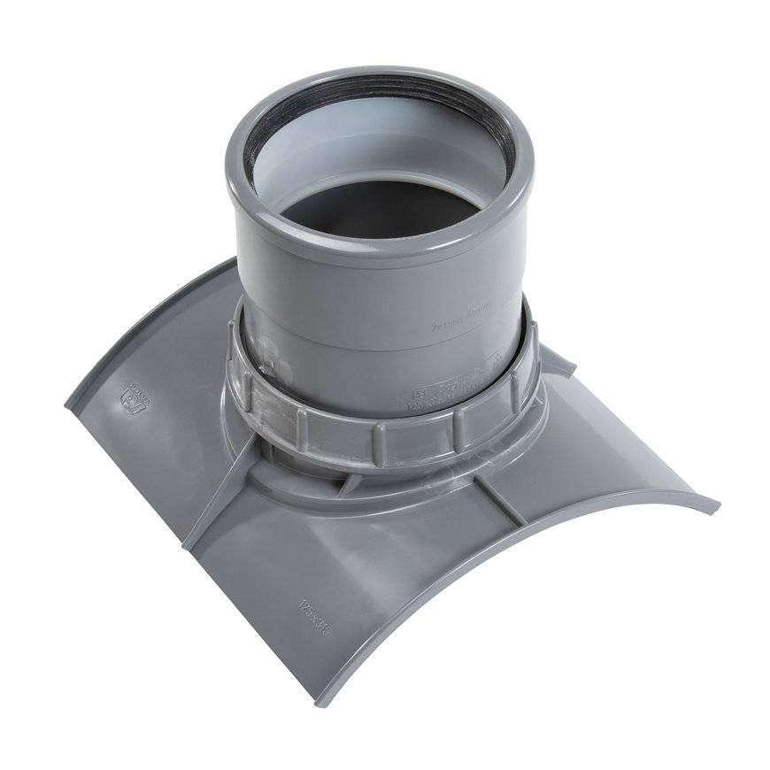 PVC keilinlaat met zettingsinlaat SN8 KOMO 400 x 160 mm