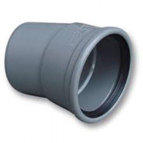 PVC bocht 15 graden 110 mm SN4/SN8 (mof/spie)