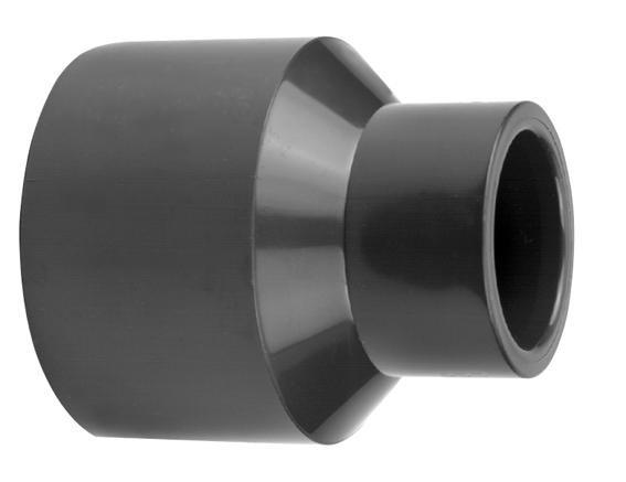 VDL PVC inzet verloopsok 90/75 x 50 mm PN16