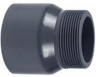 VDL PVC puntstuk handgevormd 25 mm x 1/2 '' PN16